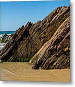 Quarry Beach 08 Metal Print