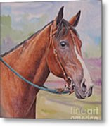 Quarter Horse Metal Print