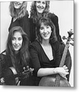 Quartet Of Muses II Metal Print