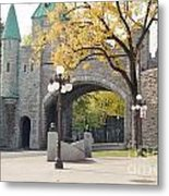 Bridge - Quebec Canada Metal Print