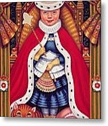 Queen Alice, 2008 Oil And Tempera On Panel Metal Print