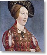 Queen Anne Of Hungary And Bohemia Metal Print