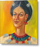 Queen Centehua Metal Print by Lilibeth Andre