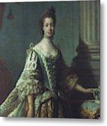 Queen Charlotte (1744-1818) Metal Print