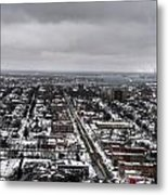 Queen City Winter Wonderland After The Storm Series 0010 Metal Print