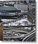 Queen City Winter Wonderland After The Storm Series 0014 Metal Print