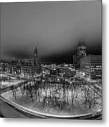 Queen City Winter Wonderland After The Storm Series 0018a Metal Print