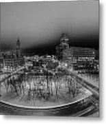 Queen City Winter Wonderland After The Storm Series 0019 Metal Print