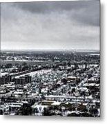 Queen City Winter Wonderland After The Storm Series 002 Metal Print
