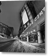 Queen City Winter Wonderland After The Storm Series 0023a Metal Print