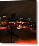 Queen City Winter Wonderland After The Storm Series 0024 Metal Print