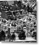 Queen City Winter Wonderland After The Storm Series 0028a Metal Print