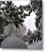 Queen City Winter Wonderland After The Storm Series 0031 Metal Print