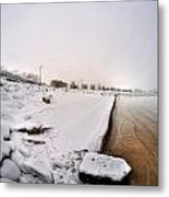 Queen City Winter Wonderland After The Storm Series 0038 Metal Print