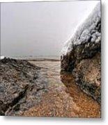 Queen City Winter Wonderland After The Storm Series 0041 Metal Print by Michael Frank Jr