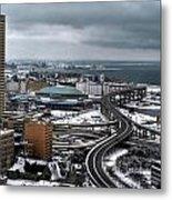 Queen City Winter Wonderland After The Storm Series 006 Metal Print