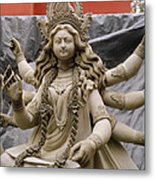 Queen Durga Metal Print by Shaun Higson