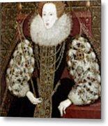 Queen Elizabeth I (1533-1603) Metal Print