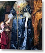 Queen Henrietta Maria (1609-69) Metal Print