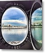Queen Mary Starboard View Metal Print