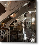 Queen Mary Sun Deck Metal Print