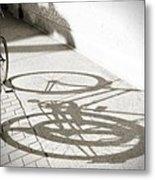 Queen St. Bicycle Metal Print