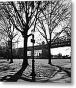Queens Bridge Park  Metal Print