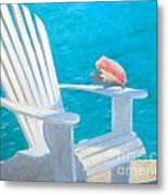 Queens Chair Metal Print