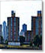 Queensboro Bridge / Roosevelt Island Panorama Metal Print