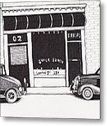 Quick Lunch With Dorothy Metal Print