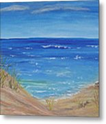 Quick Seascape 1 Metal Print