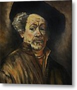 Quick Study Of Rembrandt Metal Print by Stefon Marc Brown