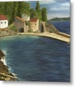 Quiet Cove Metal Print