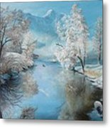 Quiet Ice  Metal Print