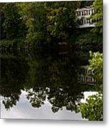 Quiet Lake In The Berkshires Metal Print