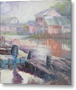 Quiet Morning In East Point Metal Print