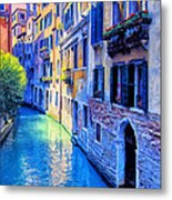 Quiet Morning In Venice Metal Print