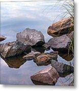 Quiet Morning. Ladoga Lake Metal Print