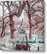 Quiet Place. Nature In Alien Skin Metal Print