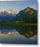 Quiet Summer Morning Metal Print