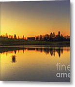 Quiet Sunrise.. Metal Print
