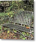 Quiet Time At The Park. Metal Print