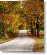 Quiet Vermont Backroad Metal Print