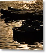 Quiet Waters At Sunset Metal Print