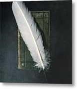 Quill And Book Metal Print