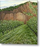 Quince Trees Metal Print