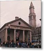 Quincy Market - Boston Massachusetts Metal Print