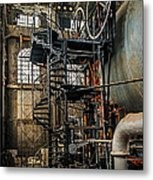 Quincy Mine Hoist Metal Print