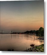Quite Evening  Metal Print