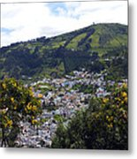 Quito From El Panecillo Metal Print